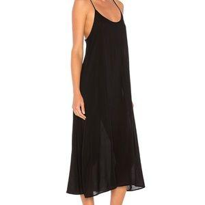 LACAUSA Midi Slip Dress Women's Large NEW